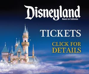 Disneyland Click for Tickets